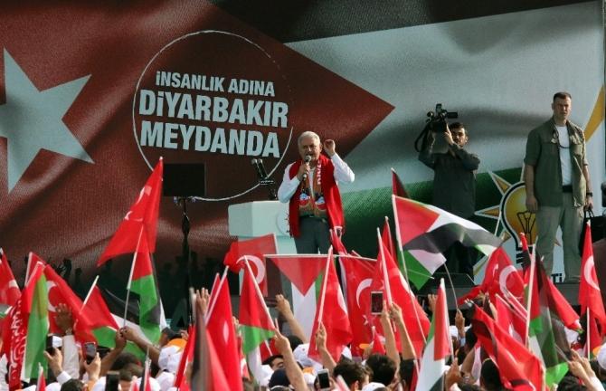 Başbakan Binali Yıldırım Diyarbakır'da (1)
