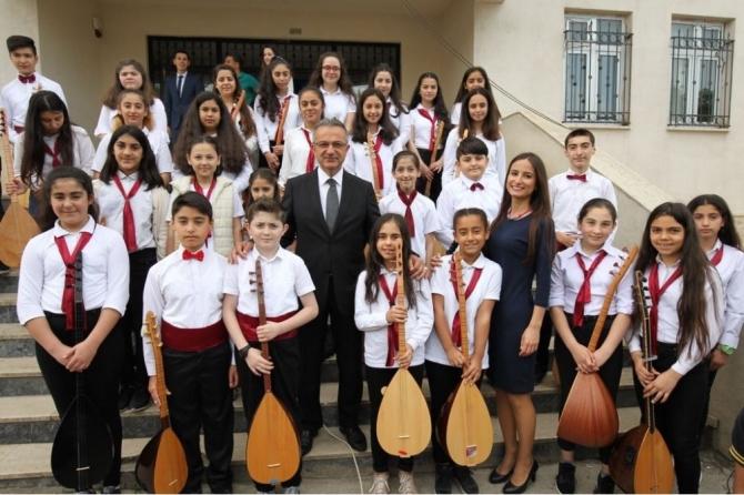 Başkan Köşker, Mimar Sinan Mahallesi'ni ziyaret etti