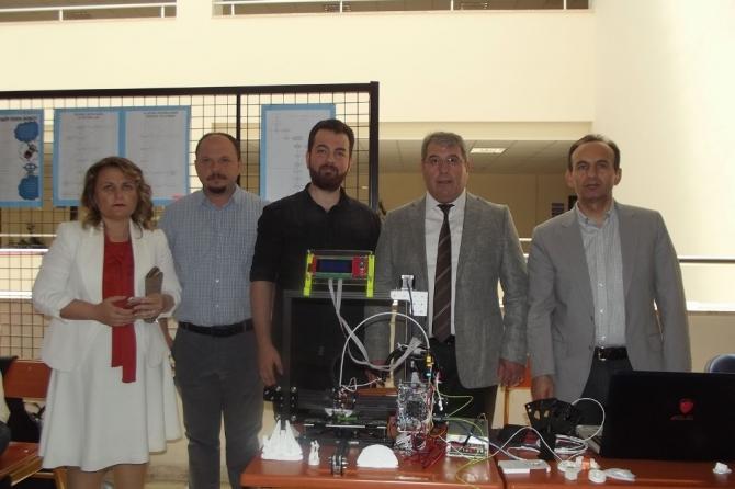 PAÜ öğrencisi 3D yazıcı yaptı