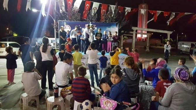 Körfez'de Ramazan coşkusu Demokrasi ve Şehitler Meydanı'nda