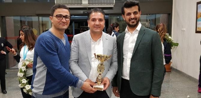 Avrupa şampiyonları Gaziantep'e döndü