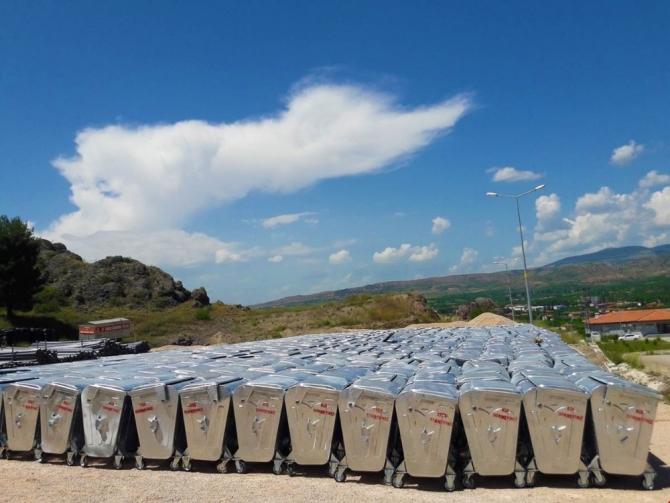 Amasya'nın köylerine 5 bin çöp konteyneri