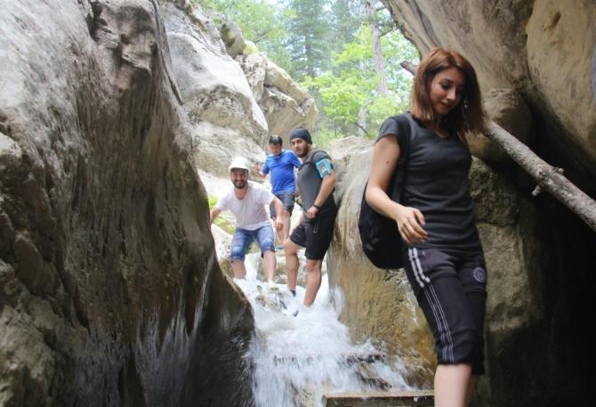 Doğaseverler, Yaka Kanyonunda buluştu
