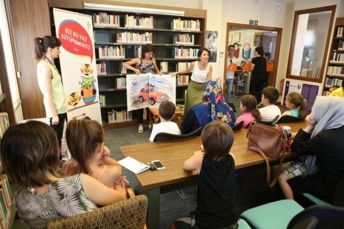 Nilüfer Belediyesi Kütüphaneleri çocuklarla şenleniyor