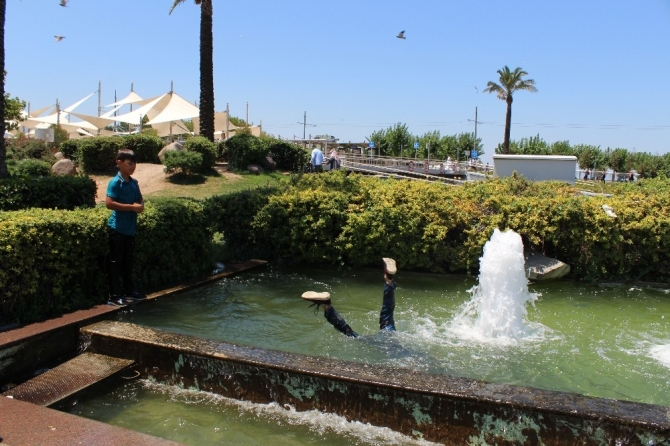 İzmir sıcaklar kavuruyor
