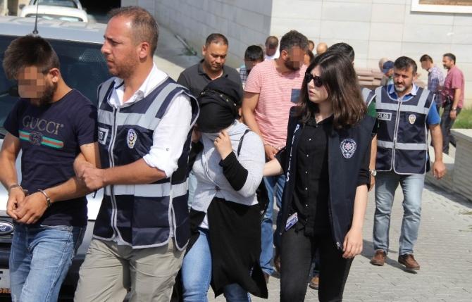 Samsun'da aranan şahıslara operasyon: 32 gözaltı