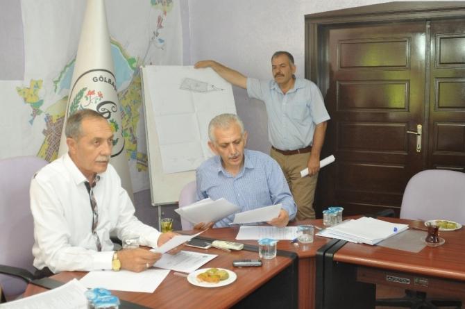 Gölbaşı Belediyesi temmuz ayı meclis toplantısı yapıldı