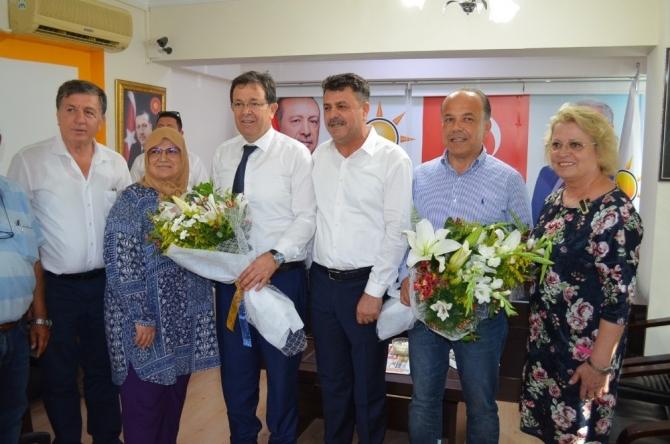 AK Parti'li yeni vekillerden Didim'e ziyaret
