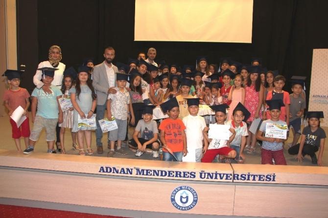 ADÜ Çocuk Üniversitesi 2018 yılı ilk mezunlarını verdi