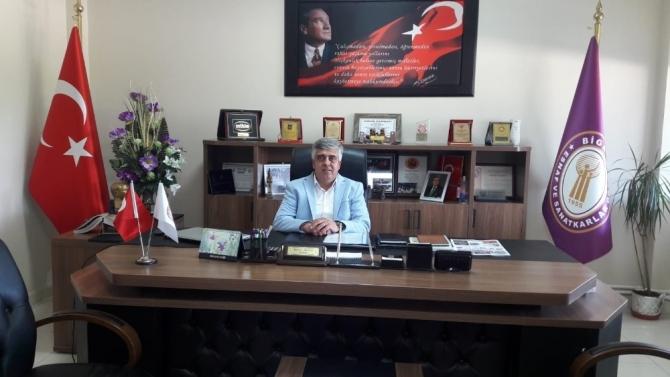 İbrahim Mutur, Çanakkale Esnaf ve Sanatkarlar Odaları Birlik Başkan Vekilliğine seçildi