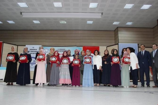 Erzincan'da Kur'an-ı Kerimi yüzünden güzel okuma yarışmasının finalistleri seçildi