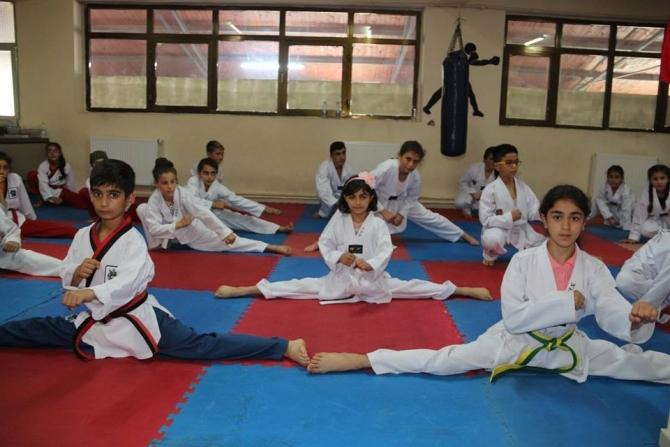 Oltu'da Tekvando kursları yoğun ilgi