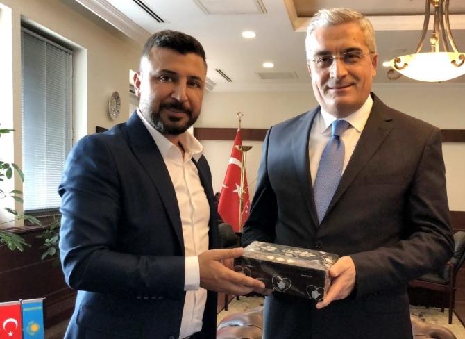GAÜN Türkiye'yi Kazakistan'da temsil etti