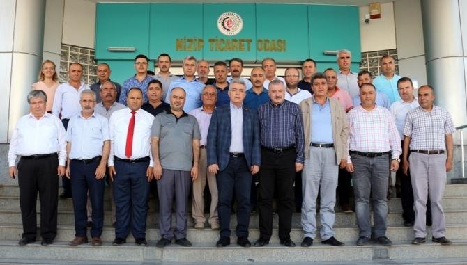 MHP Gaziantep Milletvekili Sermet Atay'dan NTO'ya teşekkür ziyareti