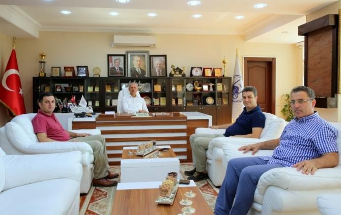 Başhekim Çakar'dan Başkan Dişli'ye ziyaret