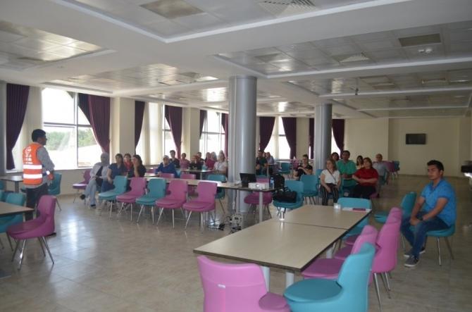 AFAD'tan hastane personeline eğitim
