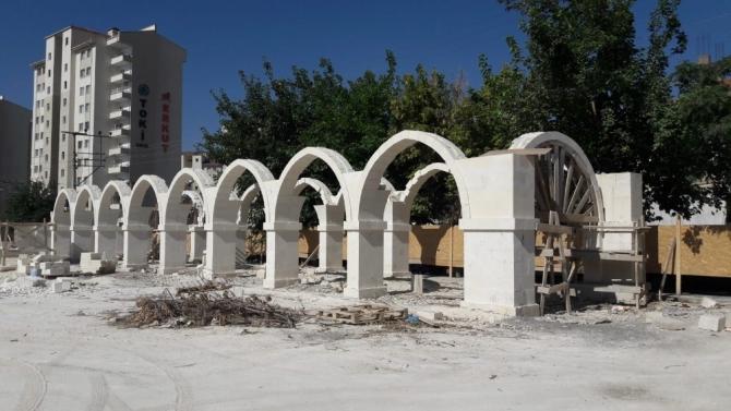 Musalla Camiinde namazgah ve sosyal donatı