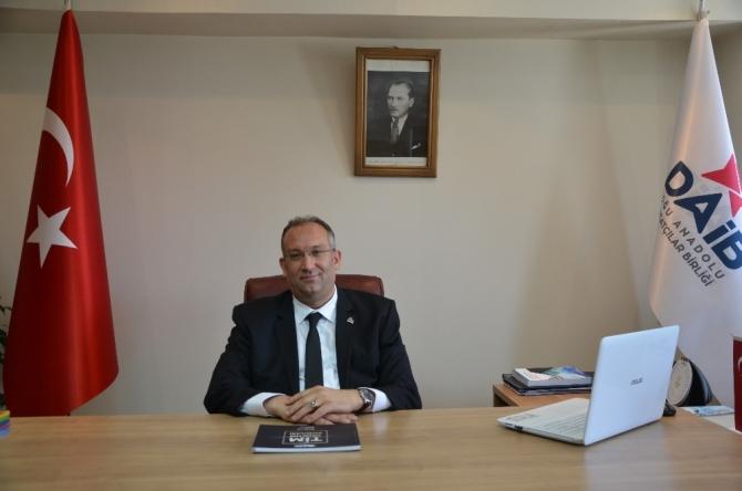 """DAİB Başkanı Ethem Tanrıver;  """"Tarihi İpekyolu canlanıyor"""""""