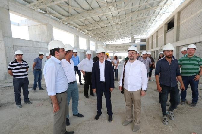 Mimarlar, Şahinbey Belediyesi'nin projelerini gezdi
