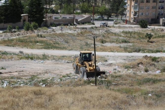 Nevşehir'de moloz ve hafriyat yığınları temizleniyor