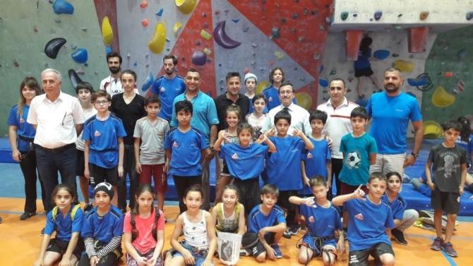 Spor Tırmanış Minik Kategorisi Milli Takıma Seçme Kampı sona erdi