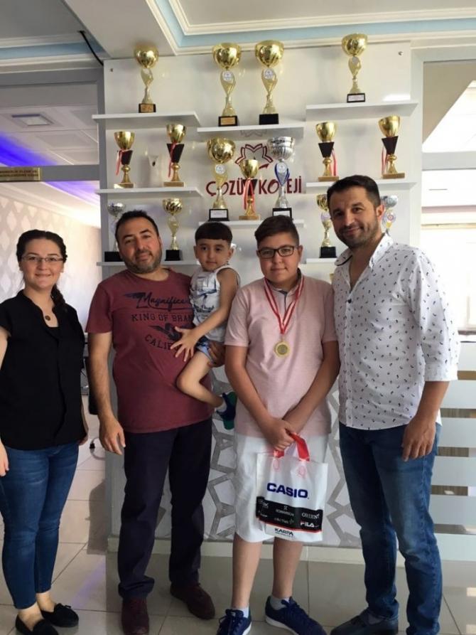 LGS 2018 Yozgat İl birincisi Çözüm Koleji'nden