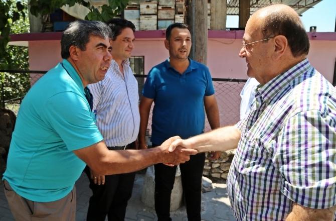 Başkan Özakcan, Zeytinköy sakinleriyle bir araya geldi