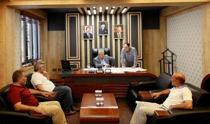 Başkan Baran'dan proje değerlendirme toplantısı