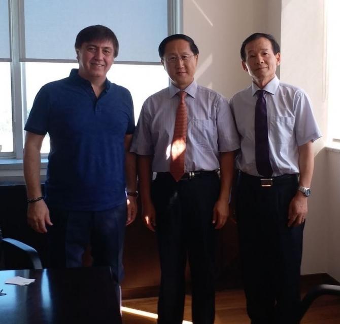 Aydınlı sanayiciler Çin heyetini ağırladı