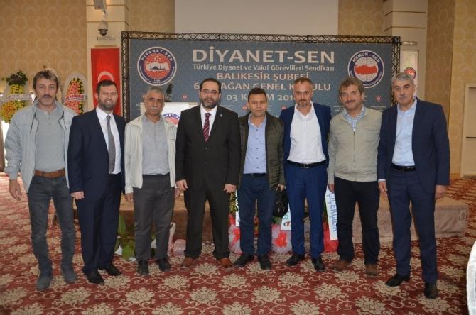 Dinayet-Sen'de Mehmet Akif Gerboğa güven tazeledi