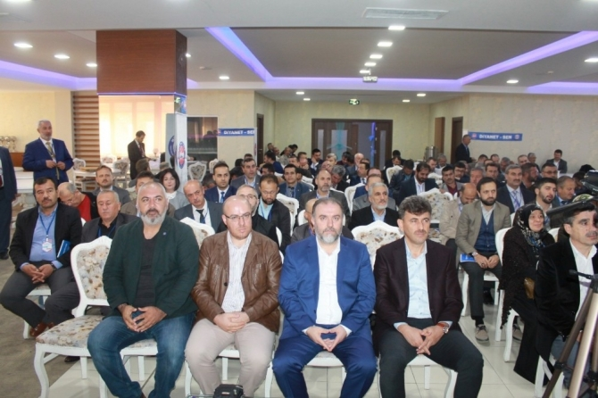 Diyanet-Sen Eskişehir Şubesinde başkan değişmedi