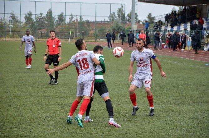 Gaziantep Ankas İstiklalspor ile 1-1 berabere kaldı.