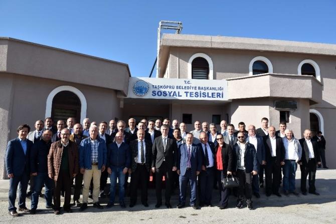 KASİAD Yönetimi Kurulu, Taşköprü ilçesini ziyaret etti