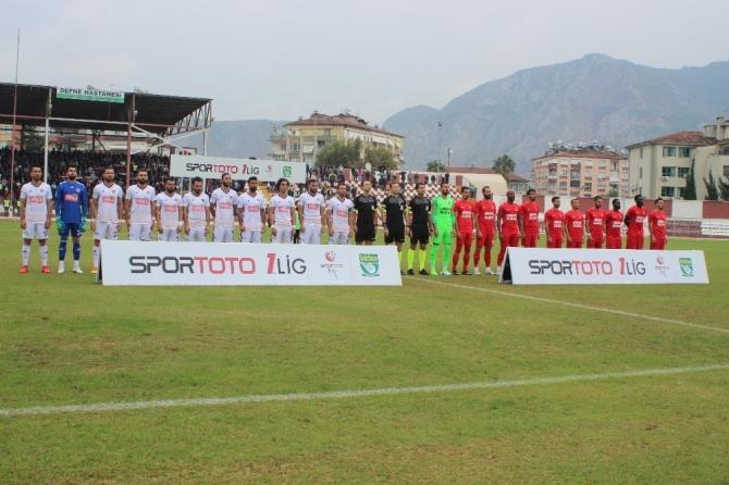 Spor Toto 1. Lig: Hatayspor: 0 - Ümraniyespor: 1
