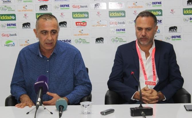 Hatayspor - Ümraniyespor maçının ardından