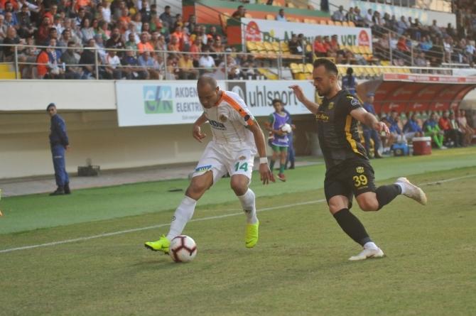 Spor Toto Süper Lig: Aytemiz Alanyaspor: 0 - E. Yeni Malatyaspor: 1 (Maç sonucu)