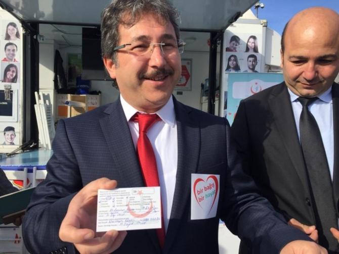 Kayseri'de 5 yılda 1601 organ bağışı yapıldı