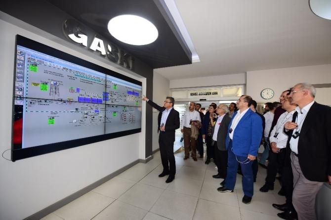 54 Şehrin su yöneticileri GASKİ projelerini gezdi