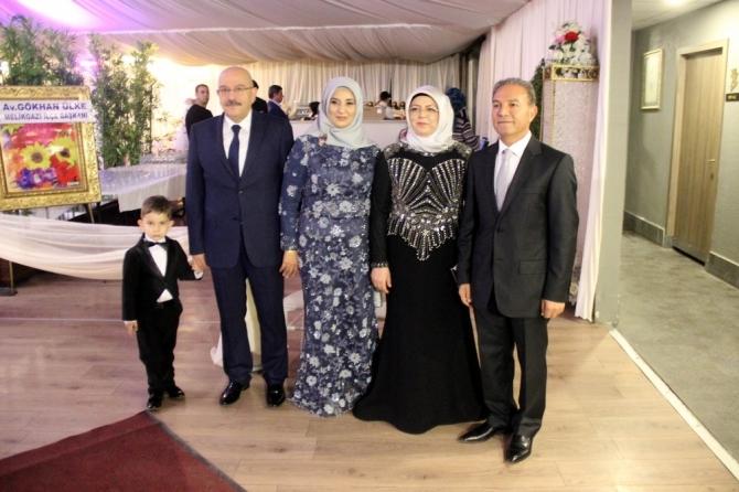 AK Parti Genel Başkan Yardımcısı Özhaseki nikah şahidi oldu