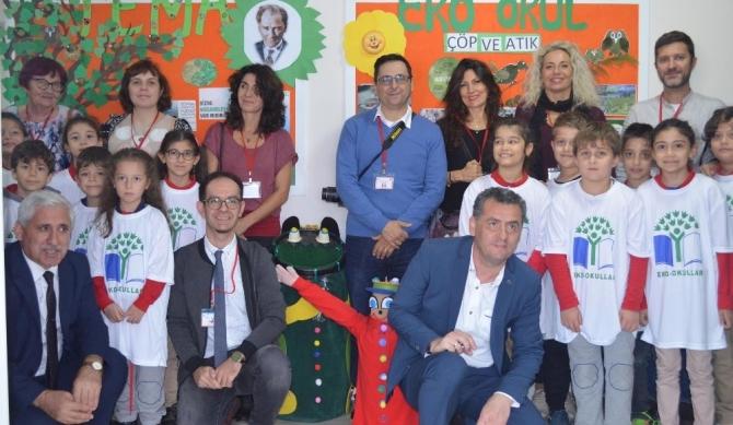 Bafra Atatürk Anadolu Lisesinin çevre duyarlı Erasmus projesi