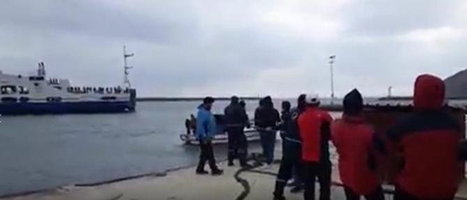 Halatla çekilerek kurtarılan feribotun arıza nedeni açıklandı