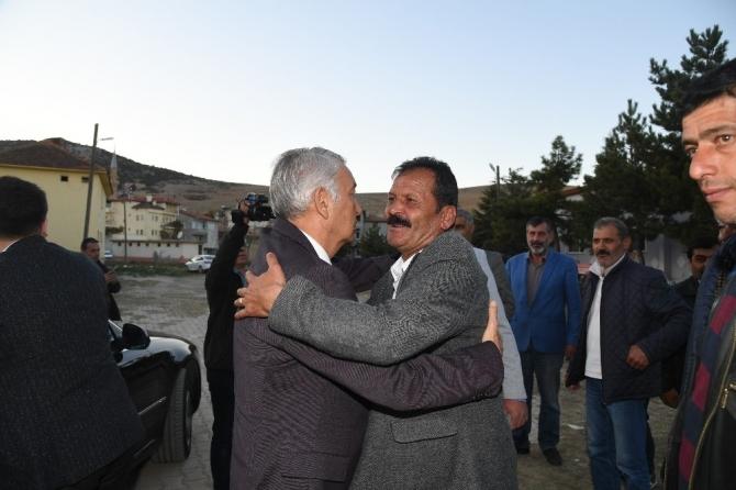 Başkan Günaydın, Şehit Sercan Kara'nın mevlit yemeğine katıldı