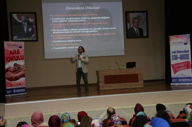KOMEK'te aile eğitimi