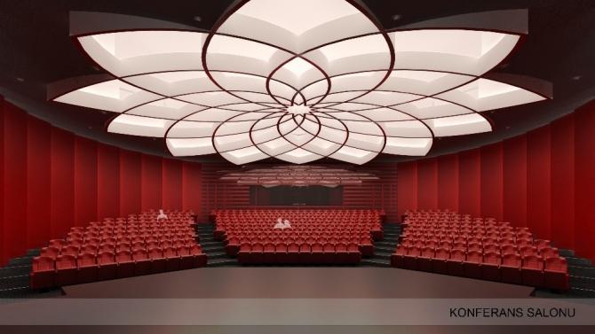Palandöken Belediyesi'nden yeni bir konferans salonu