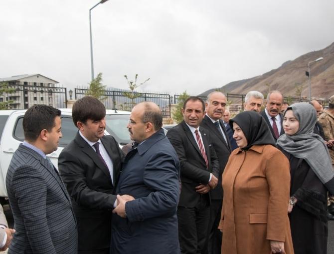 Vali İsmail Ustaoğlu, Trabzon'a uğurlandı