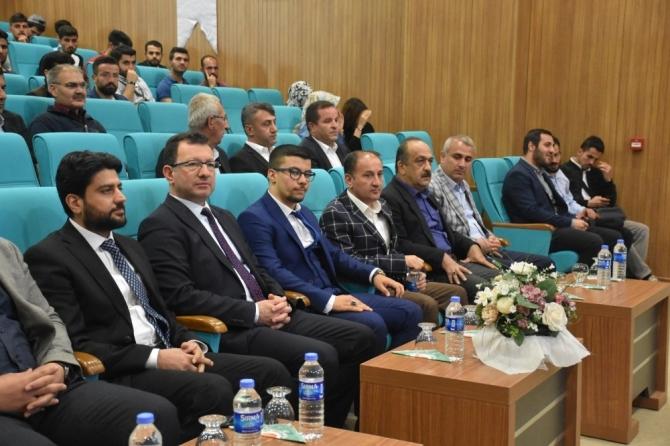 """Şırnak Üniversitesi'nde """"Bağımlılıkla Mücadele Programı"""" düzenledi"""