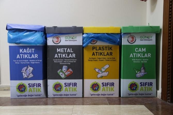 Sıfır atık projesine Uşak Belediyesinden destek