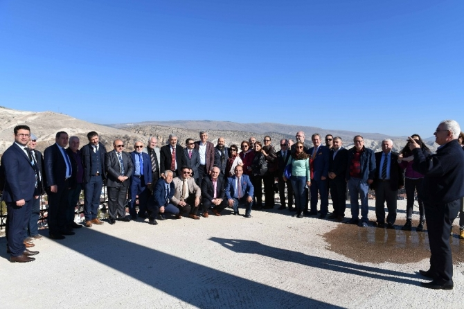 Gazeteciler Cemiyetleri Başkanları Beypazarı'nda