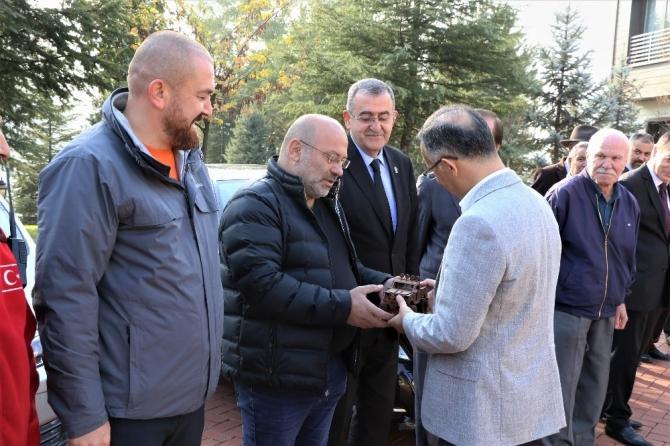 Vali Kemal Çeber Karabük'ten ayrıldı