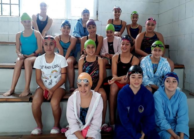 Yüzme yarışlarına 10 kulüpten 149 sporcu katıldı